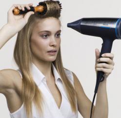 Укладка волос на брашинг